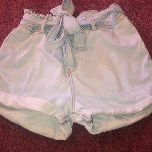 Wishlist jean shorts
